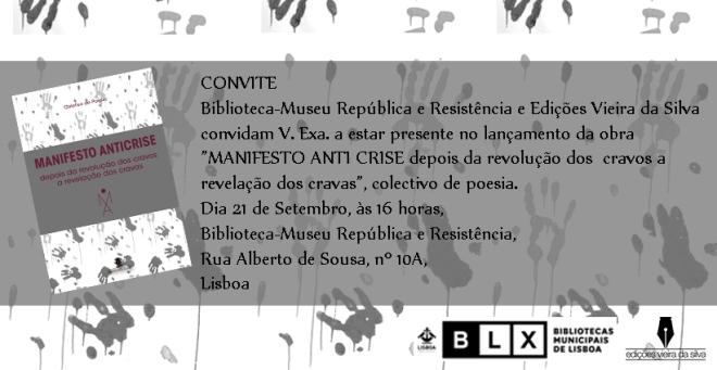 MANIFESTO - convite