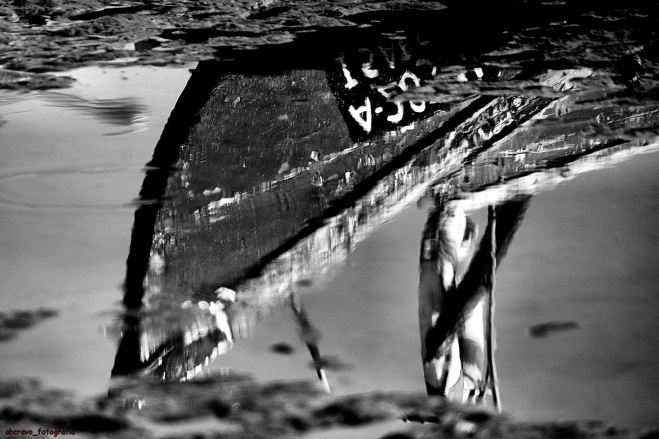 marina dos pescadores torreira: atolada na lama ainda brilha