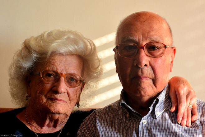 os meus pais, no dia 11 de novembro de 2013