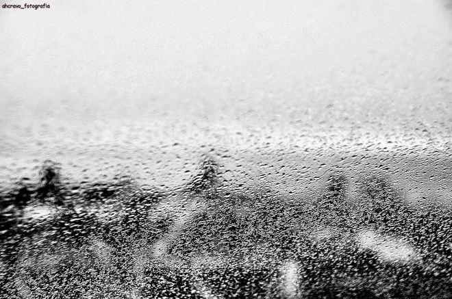 chuva no vidro