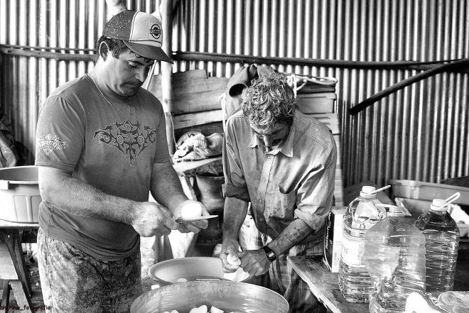 os mestres cozinheiros: marco silva e agostinho trabalhito