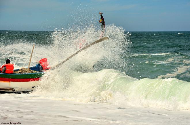 maria de fátima, pancada na praia