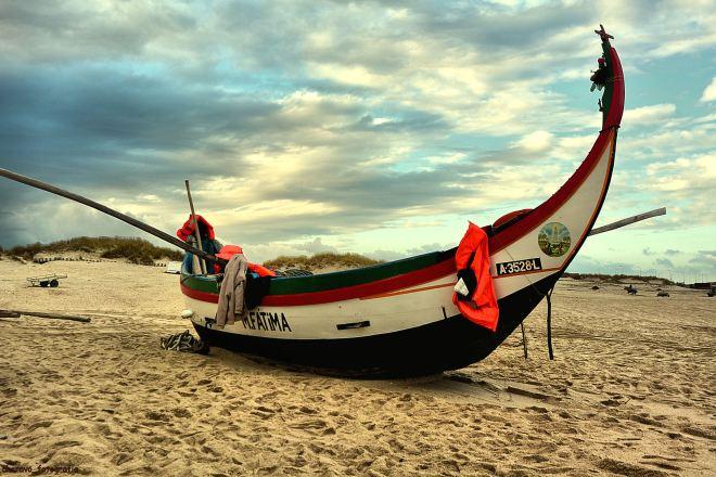 o barco de mar maria de fátima, do arrais marco silva