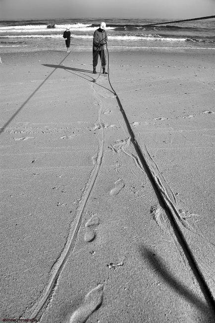 caminhos de areia