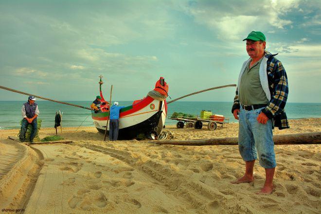 caminhos de areia, destino mar