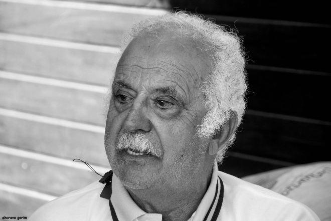 mestre joaquim henriques (raimundo) na torreira, verão de 2012
