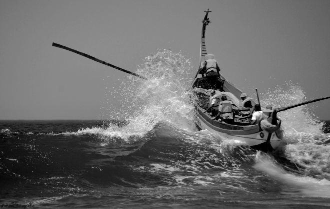 galgar a onda é ganhar ao mar