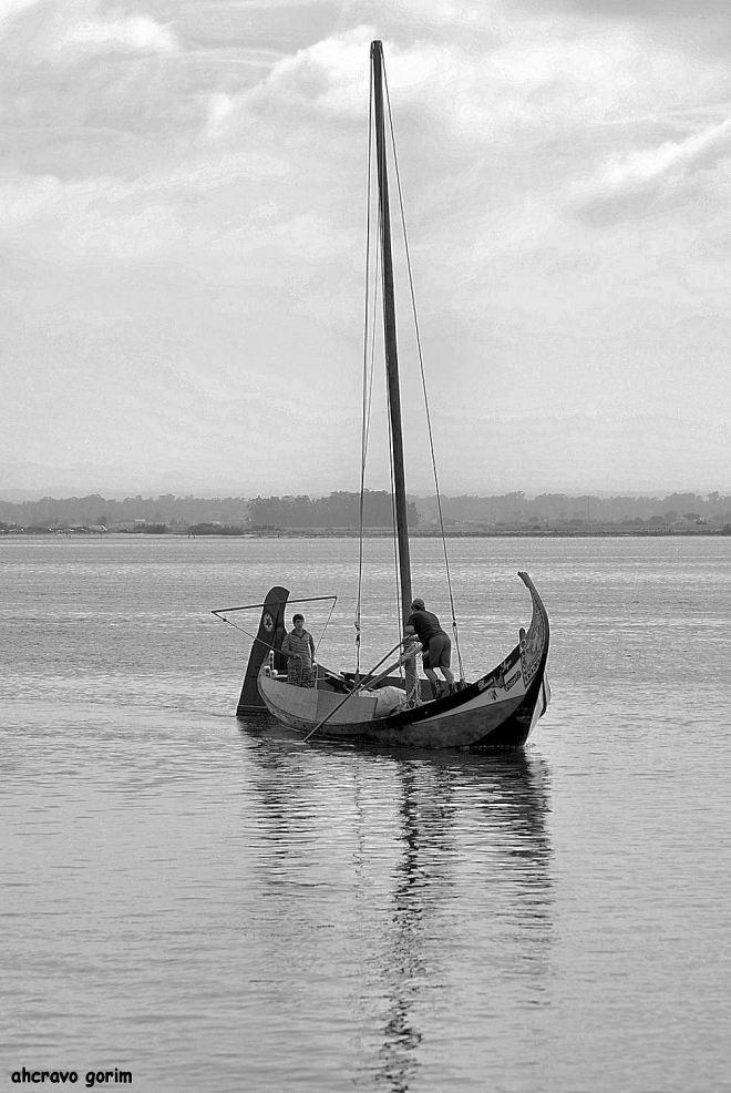 ricardo e sérgio, um barco, 2 filhos, um sonho que foi para aveiro