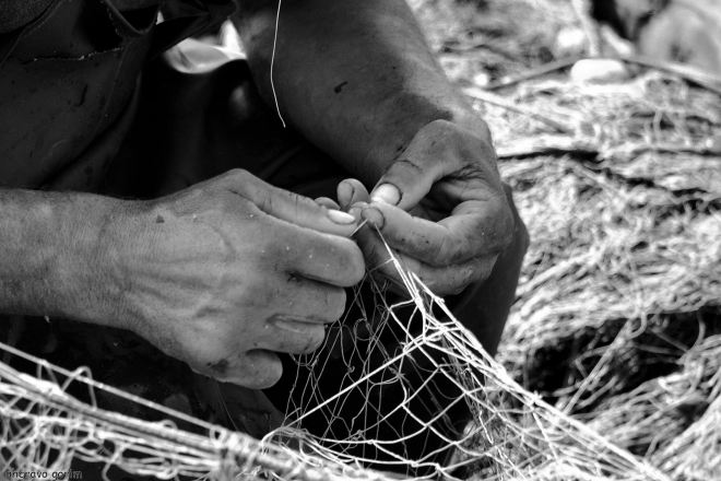 o salvador belo a reparar redes
